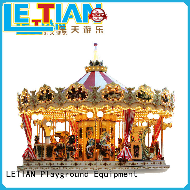 High-quality a children's carousel amusement Supply shopping centers