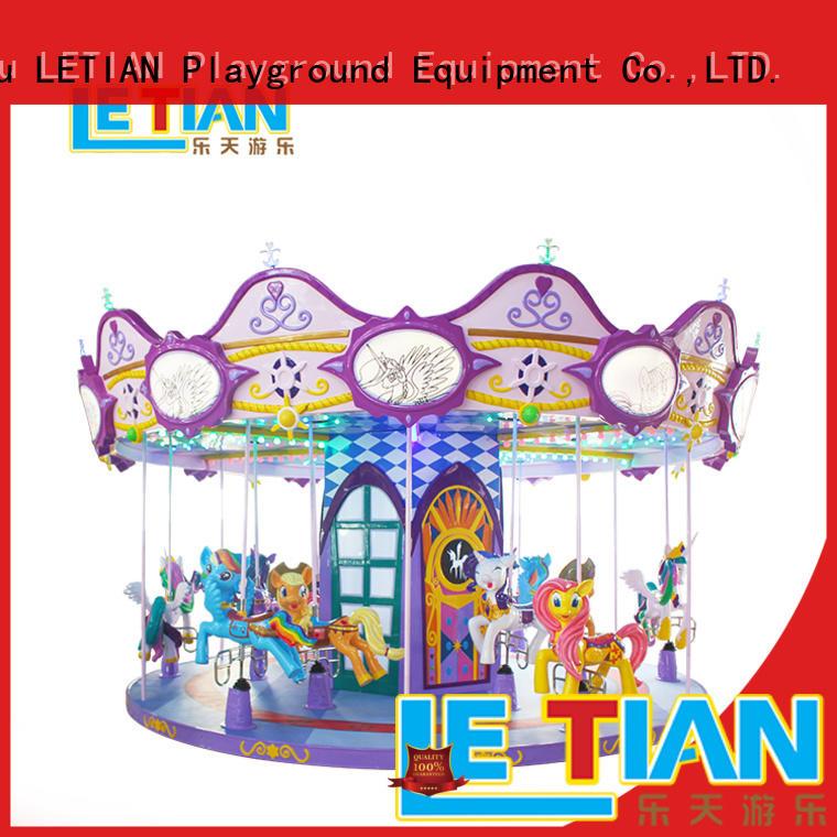 durable mini carousel games supplier shopping centers