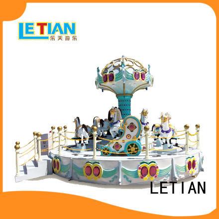 LETIAN 24 seats carousel kids design shopping centers