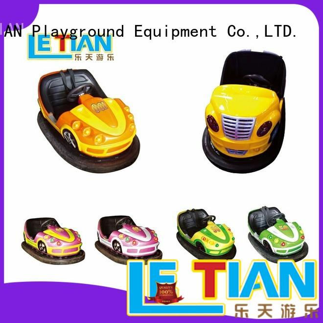 Top bumper cars ride family factory amusement park
