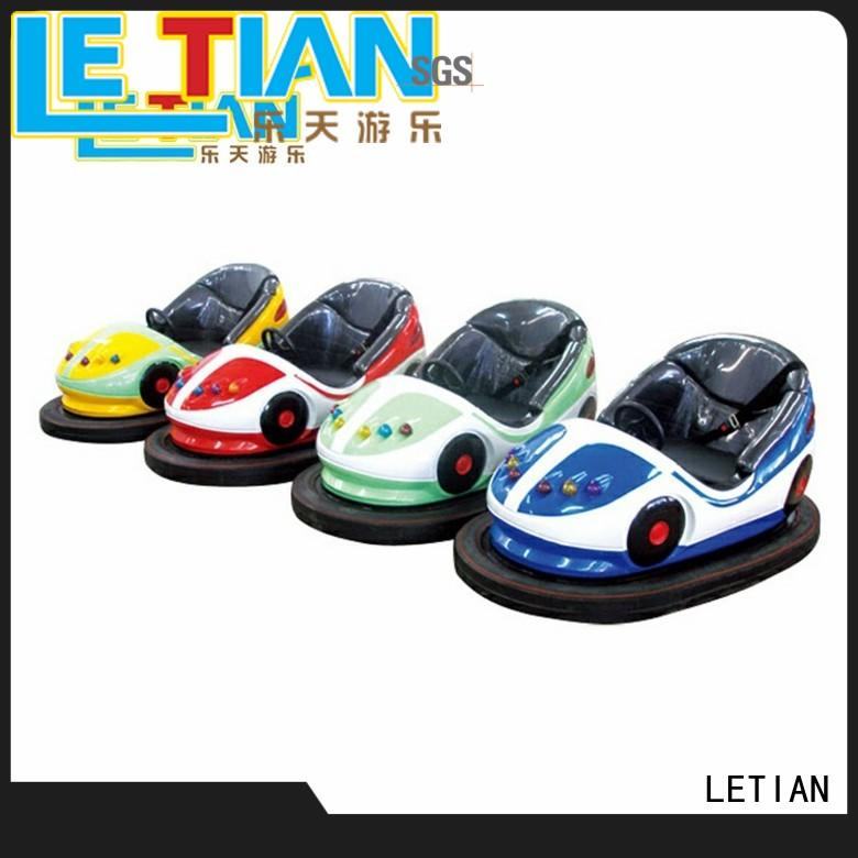 LETIAN Custom indoor bumper cars factory park