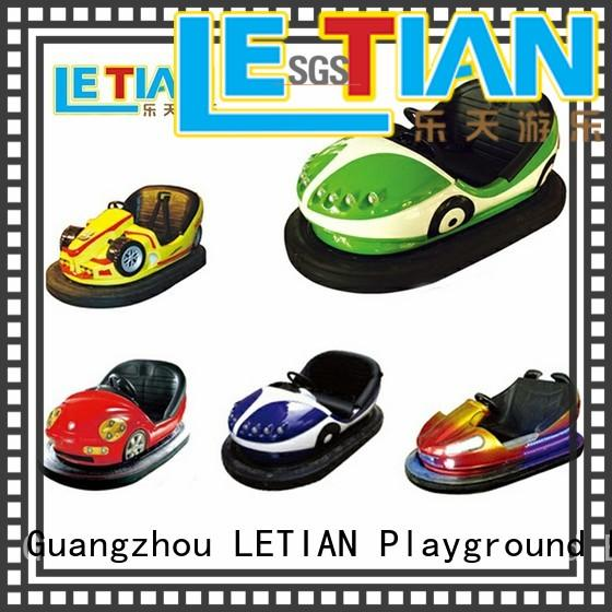 carnival battery bumper cars with antenna amusement park