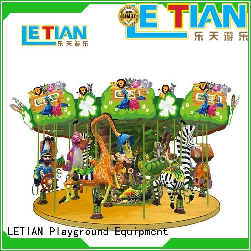 LETIAN High-quality christmas carousel for sale shopping centers