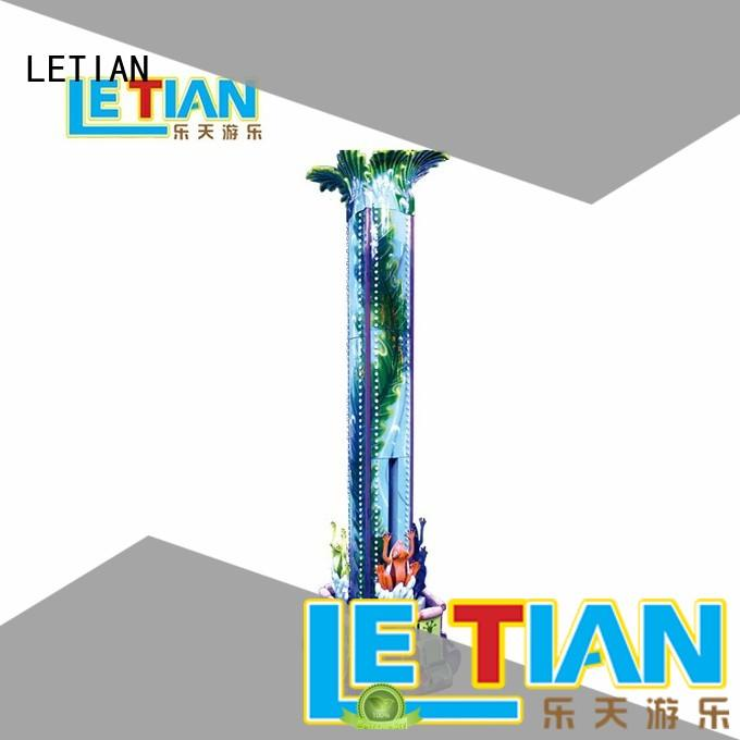 LETIAN seats sky drop ride Suppliers playground