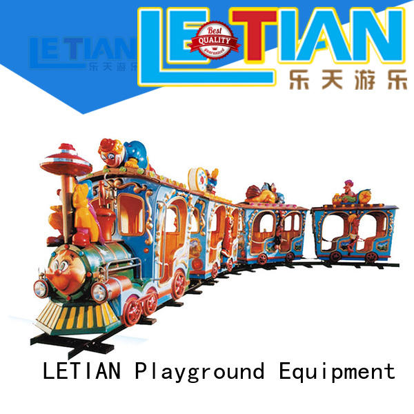 lt7077a amusement train for kids mall LETIAN