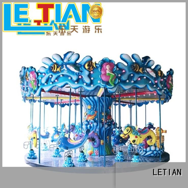 LETIAN amusement park rides for kids for kids carnival