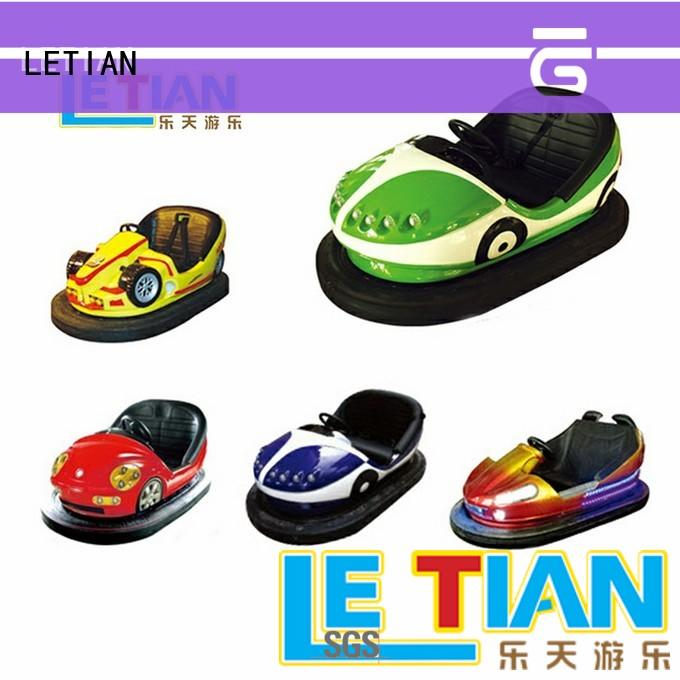 LETIAN Custom bumper cars history manufacturer entertainment
