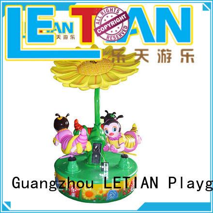 LETIAN Top kids carousel company carnival