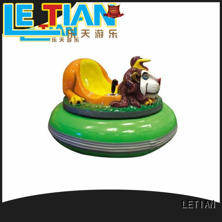 LETIAN Top bumper car racing manufacturer park
