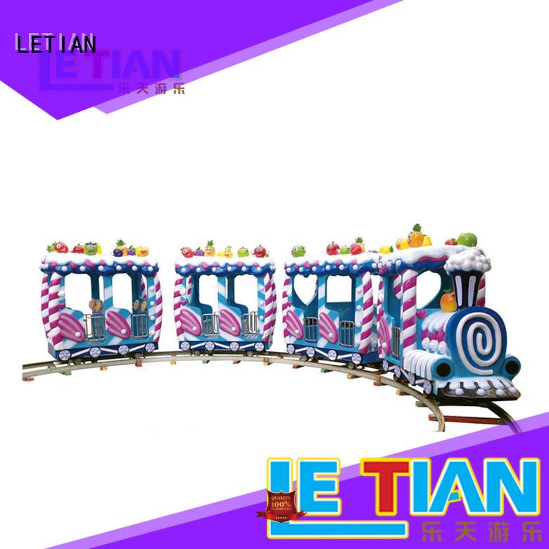 LETIAN lt7085a theme park train manufacturer children's palace