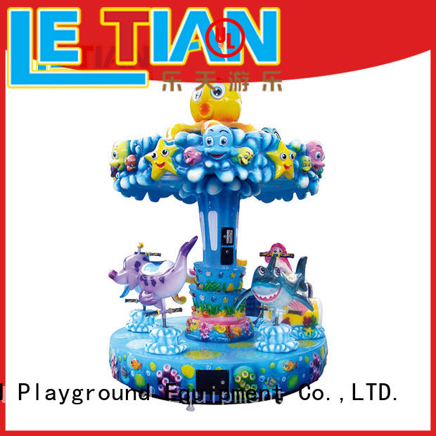 LETIAN colorful small carousel for sale customized fairground