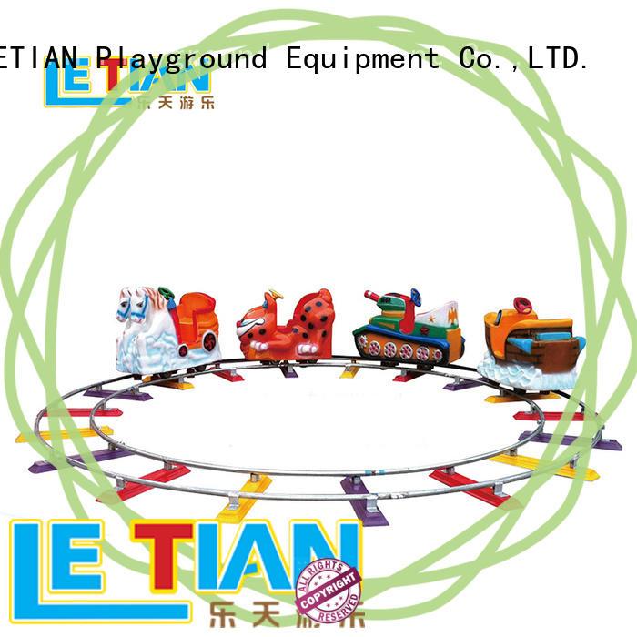 LETIAN Latest amusement park train rides for sale life squares