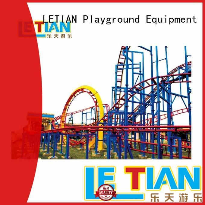 LETIAN Best roller coaster world factory theme park