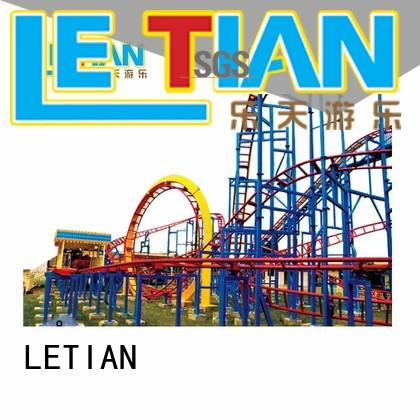 LETIAN rides coaster designs for kids mall