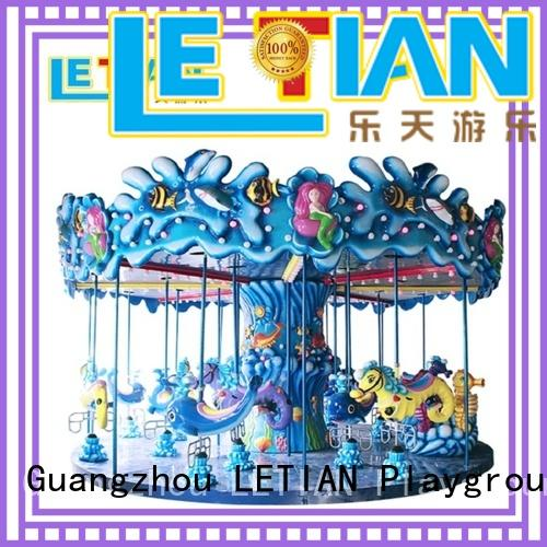 park christmas carousel for sale kids theme park LETIAN