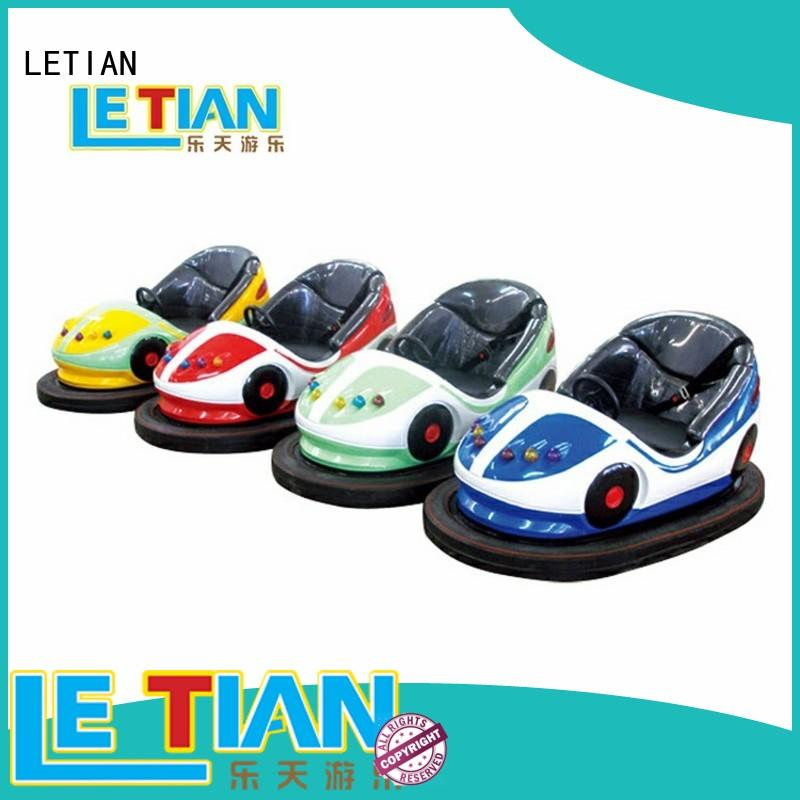 LETIAN electric bumper car manufacturers with antenna park