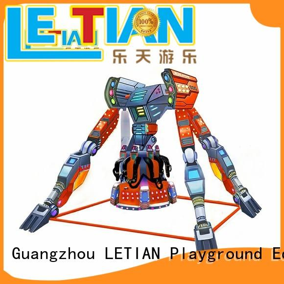 LETIAN reinforced extreme theme park wholesale playground