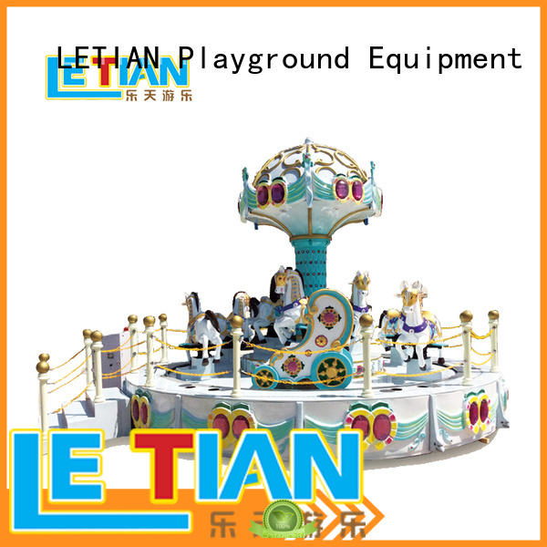 High Quality 11 seats Carousel funfair equipment for sale LT-7040A