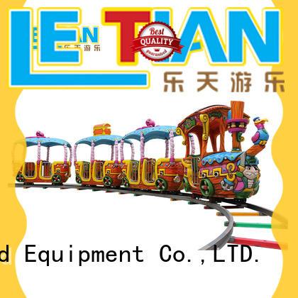 LETIAN 14 amusement park train rides for sale park playground