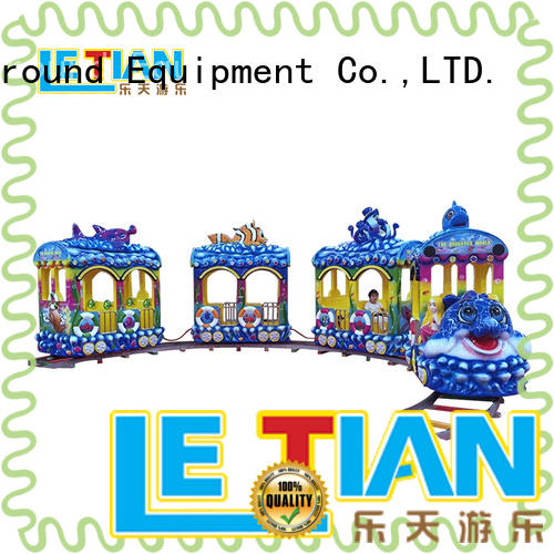 LETIAN style train theme park China children's palace