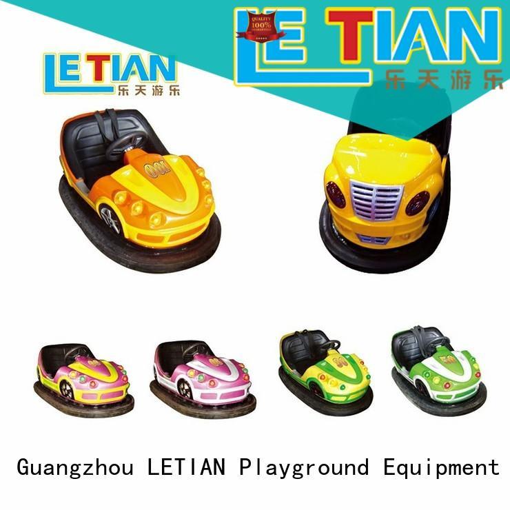 LETIAN fashionable bumper car games for sale amusement park