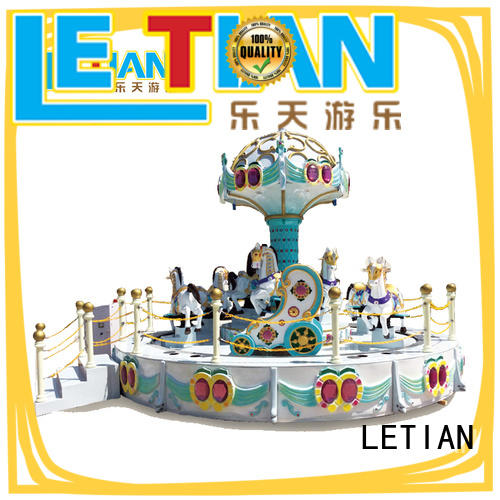 LETIAN mall amusement park rides for kids customized shopping centers