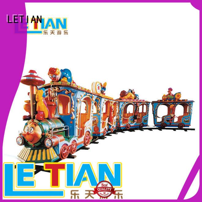 LETIAN sale amusement train manufacturers life squares
