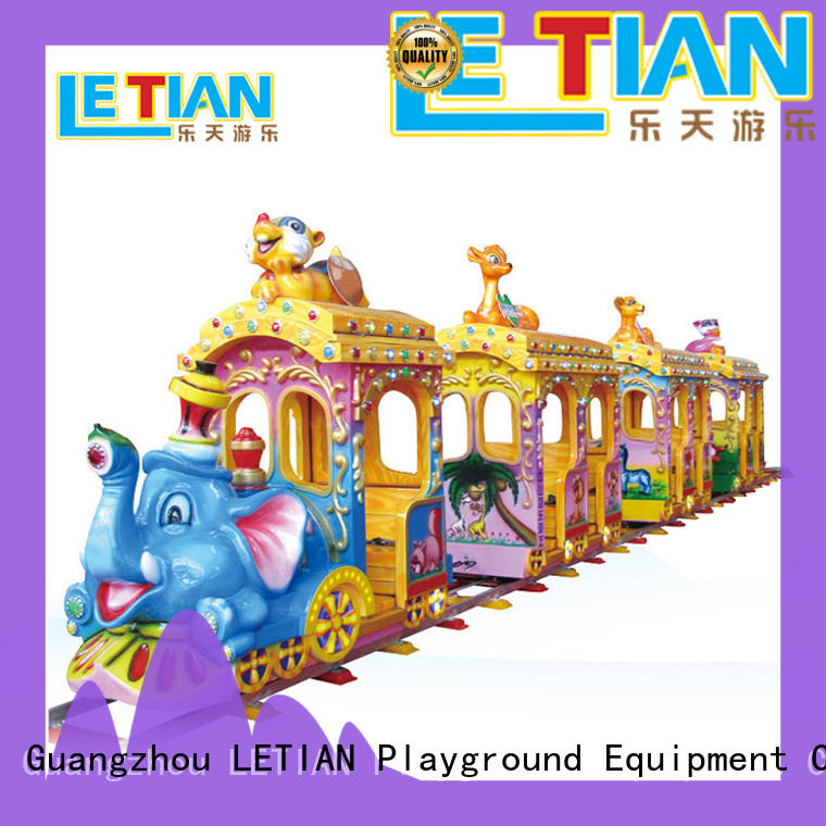 LETIAN electric theme park train for sale life squares