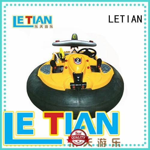 LETIAN electric bumper car manufacturers for kids zoo