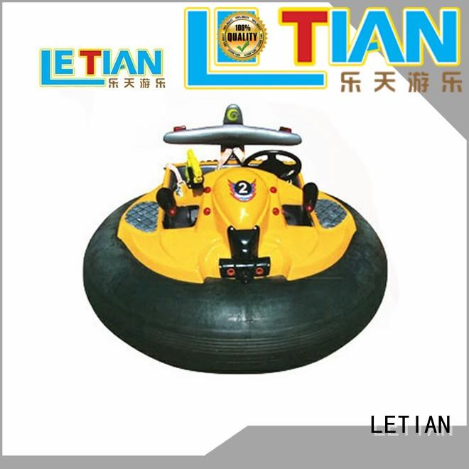 LETIAN drifting indoor bumper cars with antenna zoo
