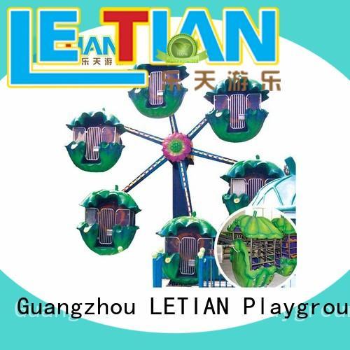 amusement park ferris wheel doublesided playground LETIAN