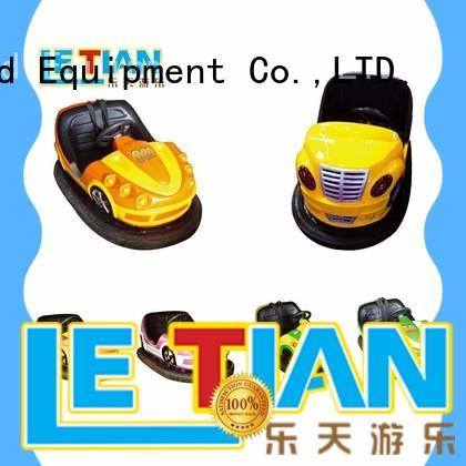 LETIAN cars kids bumper cars with antenna park