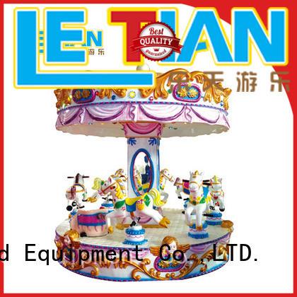 colorful mini carousel for sale supplier theme park LETIAN
