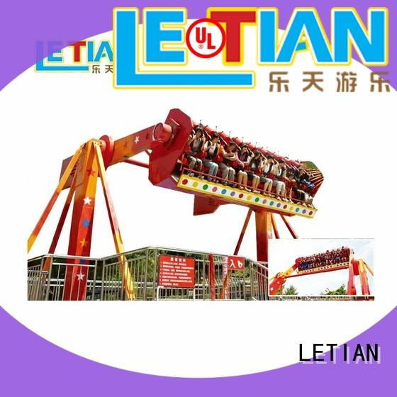 LETIAN reinforced extreme thrill rides factory theme park