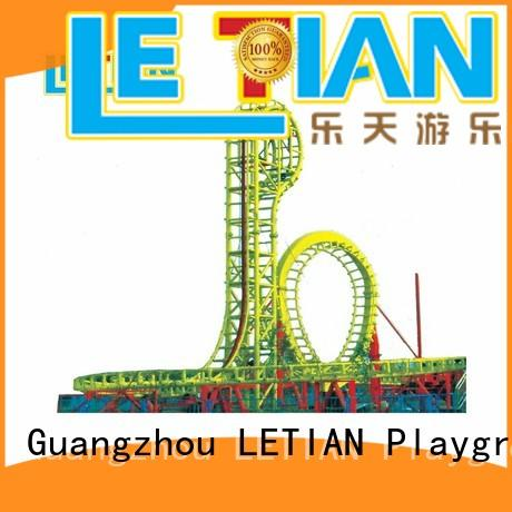 LETIAN six roller coaster design for student playground
