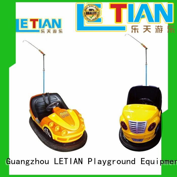 Kids with antenna bumper car theme park equipment manufacturer LT-7071B