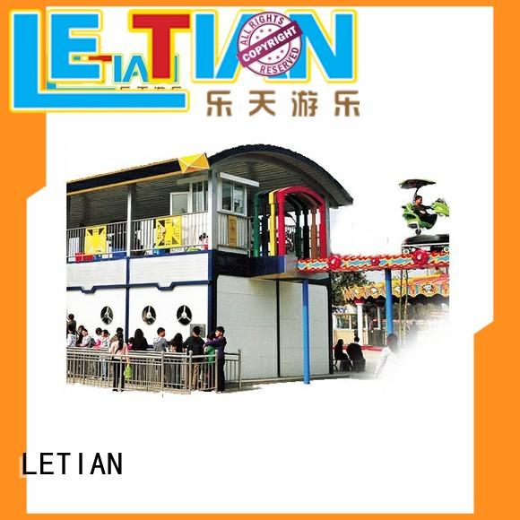 LETIAN Factory made best roller coasters for children mall