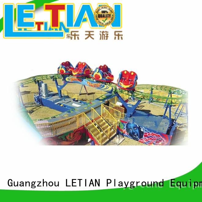 LETIAN Best superman roller coaster for business mall