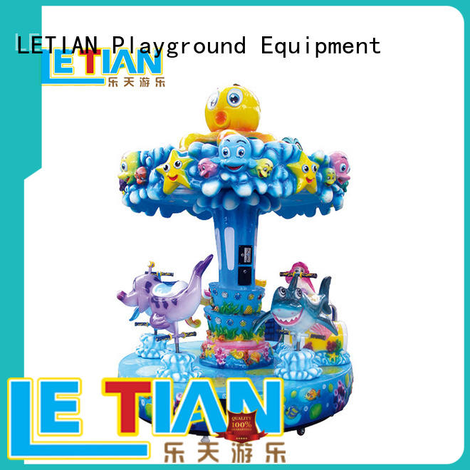 LETIAN small carousel for sale factory theme park