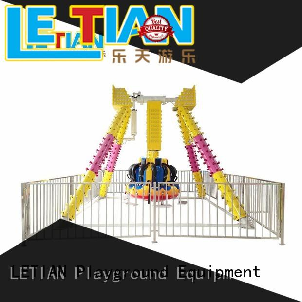 large extreme amusement rides tourist mall