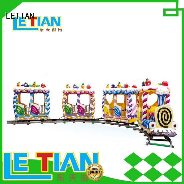 LETIAN sea small trains for parks for kids children's palace