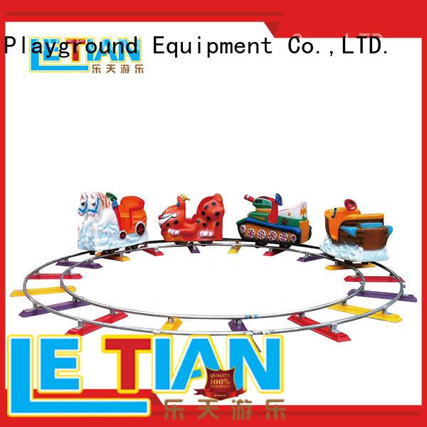 LETIAN worm amusement train for kids park playground
