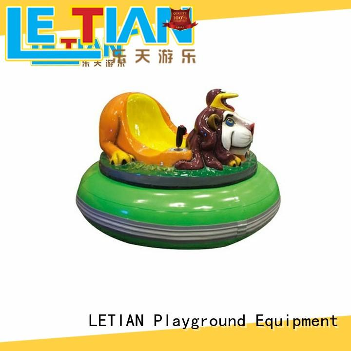 LETIAN carnival bumper cars history factory entertainment