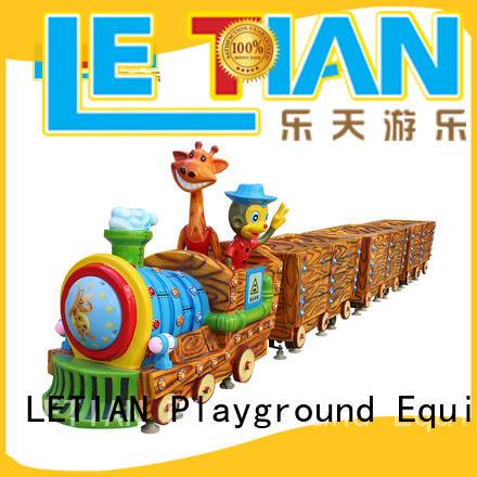 LETIAN jungle thomas the train amusement park Supply life squares