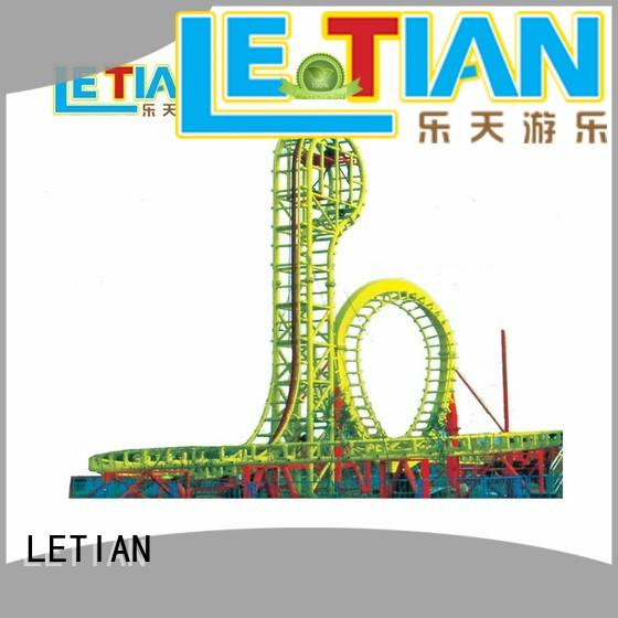 LETIAN Top create your own roller coaster park for children theme park