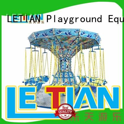LETIAN fruit amusement park swing ride customized zoo