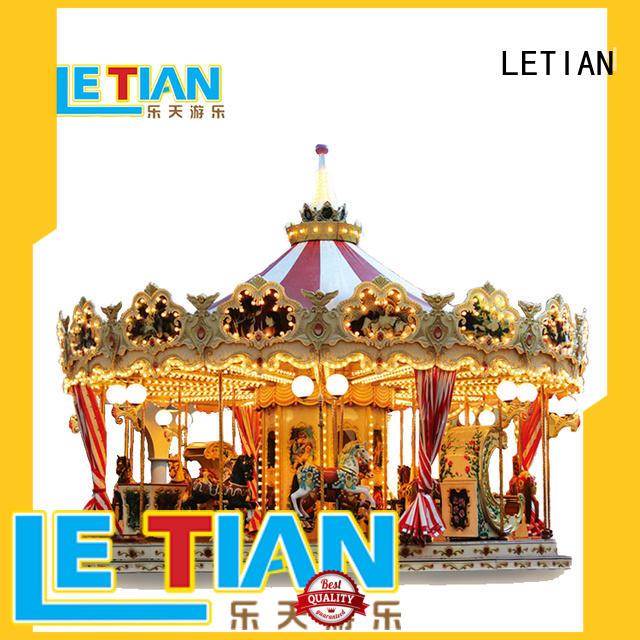 carnival carousel items for sale amusement theme park LETIAN