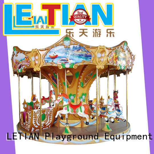 LETIAN 24 seats amusement rides in china customized carnival