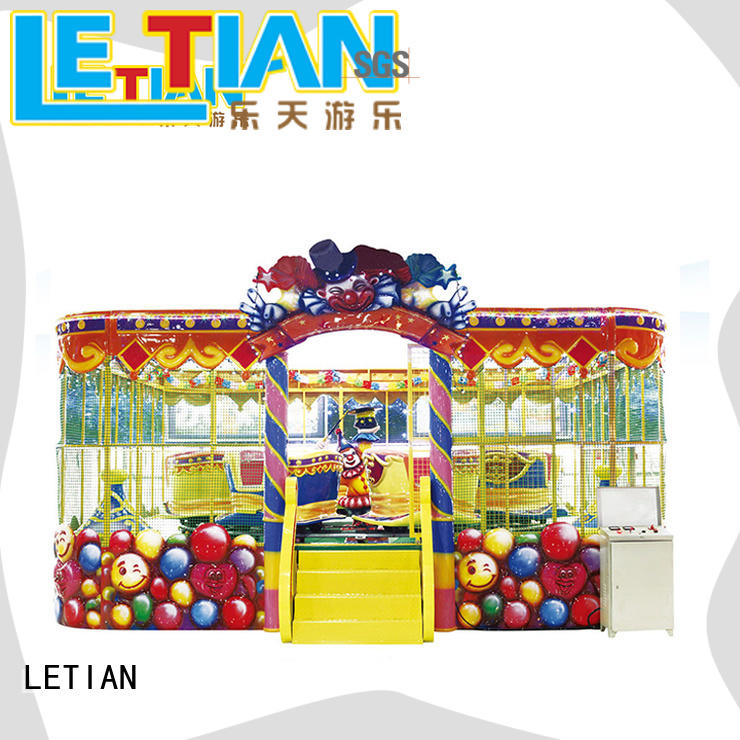 LETIAN electric train theme park company mall