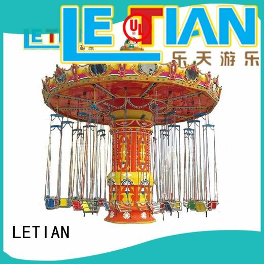 LETIAN sale flying chair ride carousel theme park